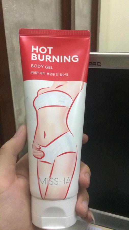 Kem Missha Hot Burning Perfect Body Gel Chính Hãng Từ Hàn Quốc