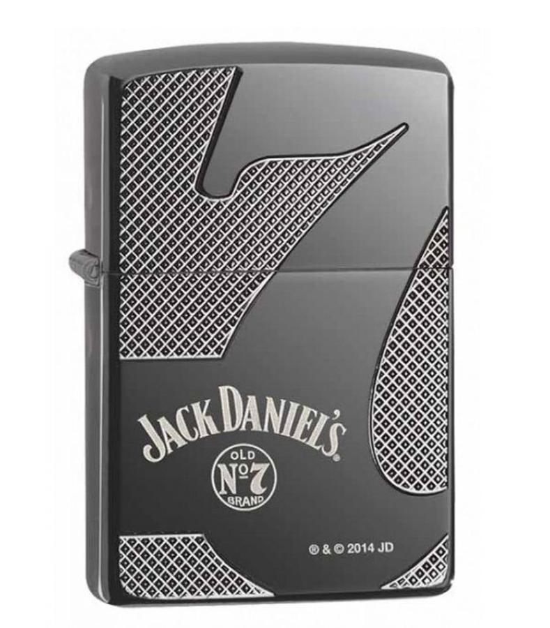 Bật Lửa Zippo 28817 Black Ice Jack Daniel's Famous 7