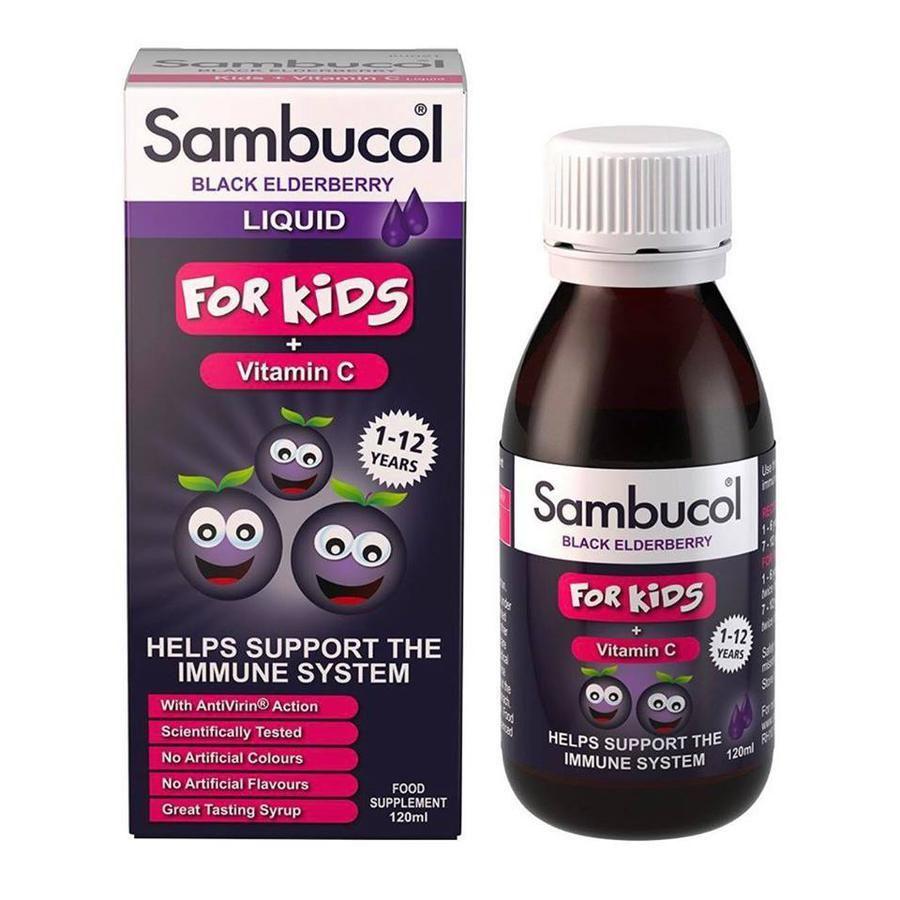 Siro Sambucol tăng sức đề kháng cho trẻ