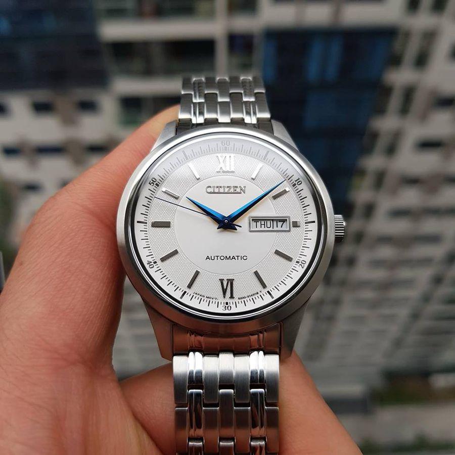 Đồng Hồ Citizen NY4051-51A Kính Sapphire Máy Automatic
