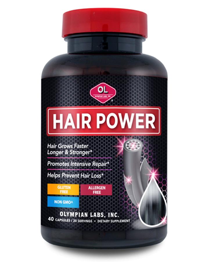 Hair Power - Viên Uống Hỗ Trợ Mọc Tóc Chính Hãng Của Mỹ