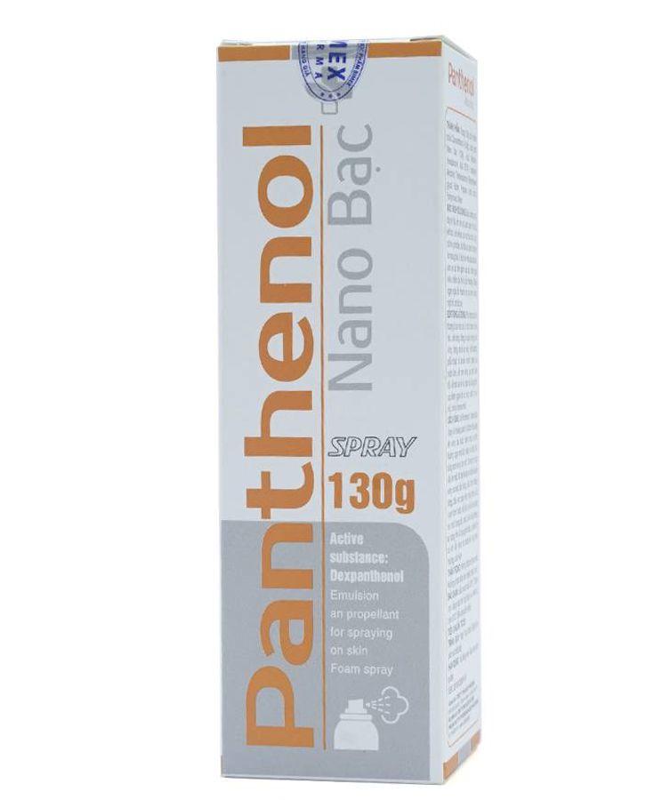 Xịt Bỏng Panthenol Spray Chính Hãng