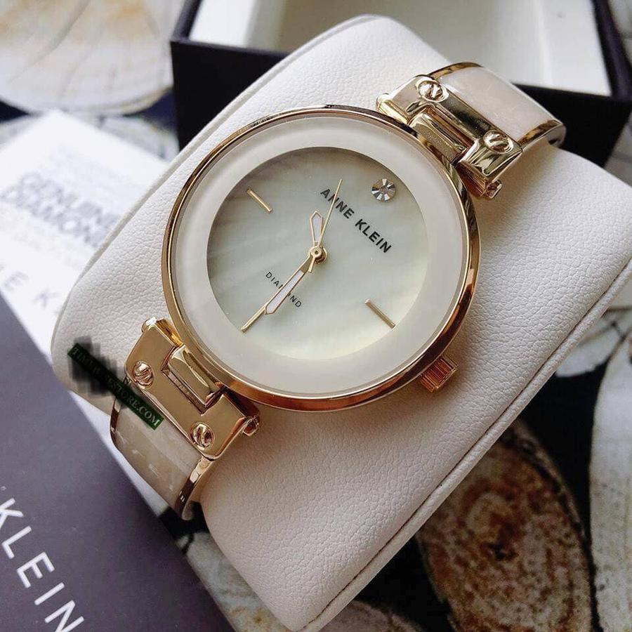 Đồng Hồ Anne Klein AK/2512IVGB Mother Of Pearl Dial