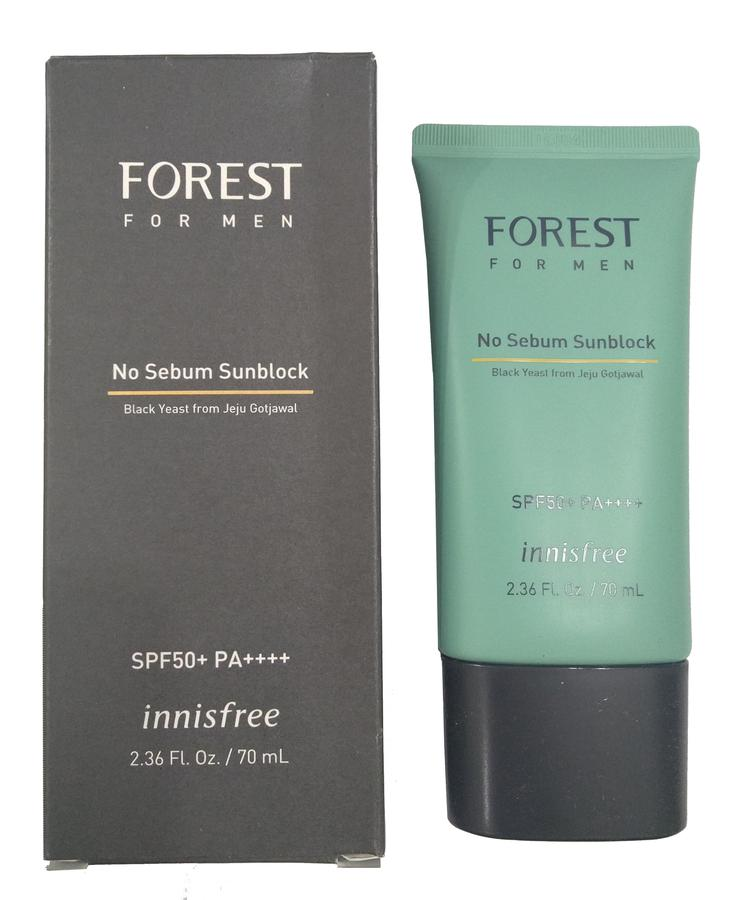 Kem Chống Nắng Cho Nam Innisfree Forest No Sebum Sunblock