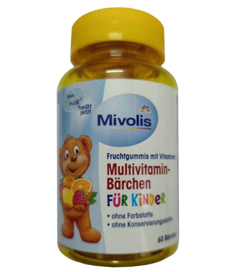 Kẹo Vitamin Tổng Hợp Cho Bé Das Gesunde Plus 60 Viên