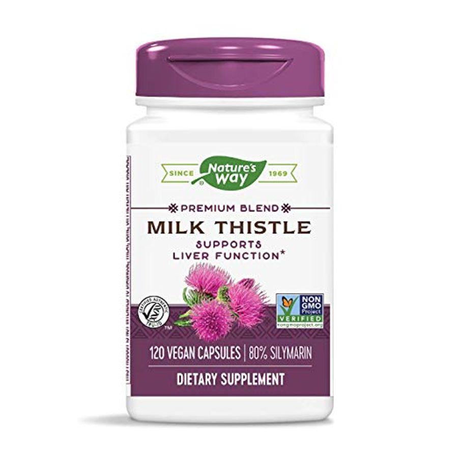 Nature's Way Milk Thistle SE - Viên Uống Hỗ Trợ Chức Năng Gan