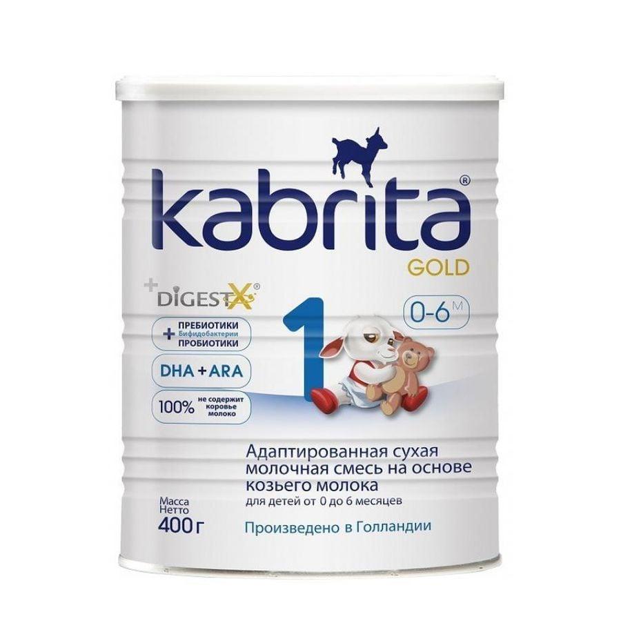 Sữa Dê Kabrita Gold Số 1 Của Nga Cho Trẻ Từ 0 - 6 Tháng Tuổi