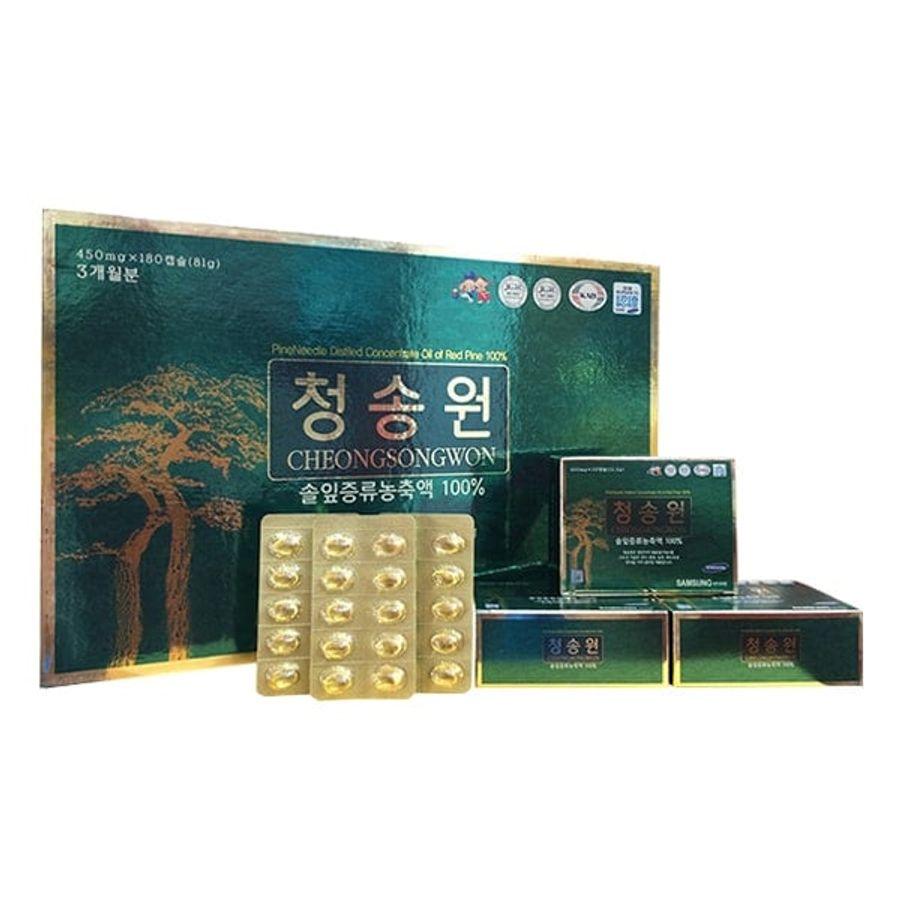 Tinh Dầu Thông Đỏ Cao Cấp Hàn Quốc Cheongsongwon