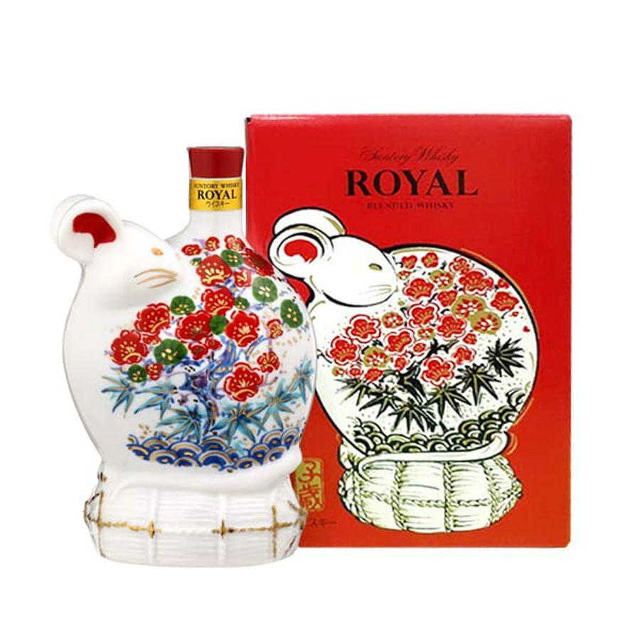 Đồ Uống Hình Con Chuột Suntory Whisky Royal 2020