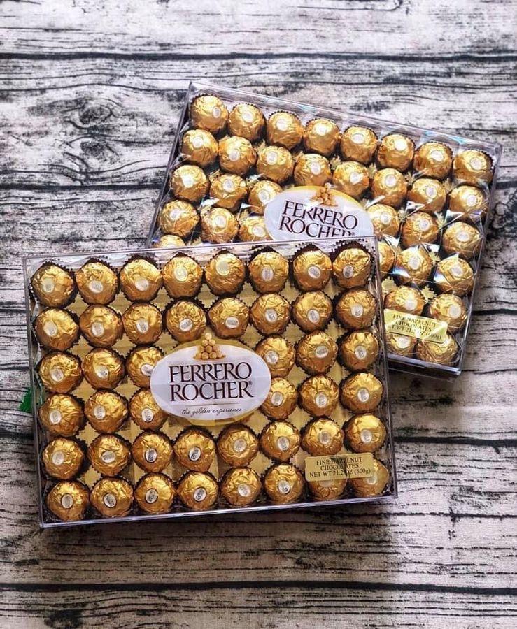Socola Ferrero Rocher Hộp 48 Viên 600g Chính Hãng Của Mỹ