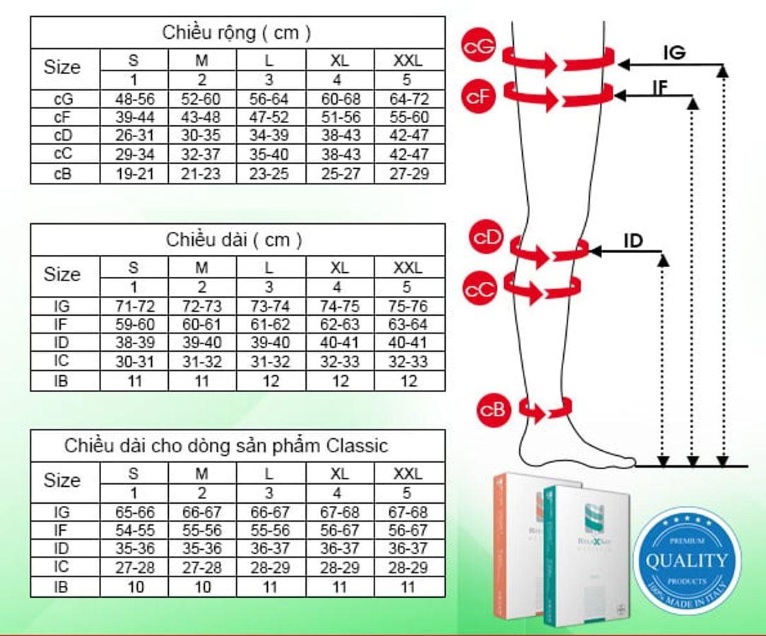 Vớ Y Khoa Đùi Hở Ngón Relaxsan Microfiber Soft Art.M2170A
