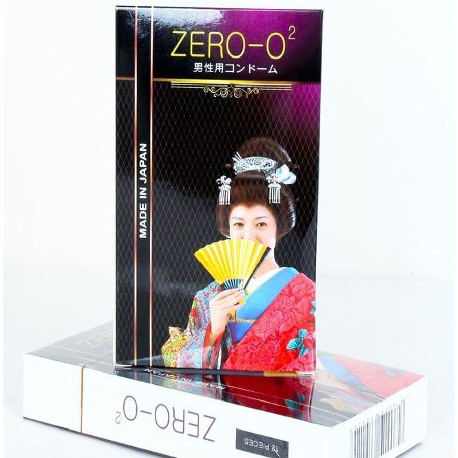 Bao Cao Su Zero O2 Siêu Mỏng Của Nhật