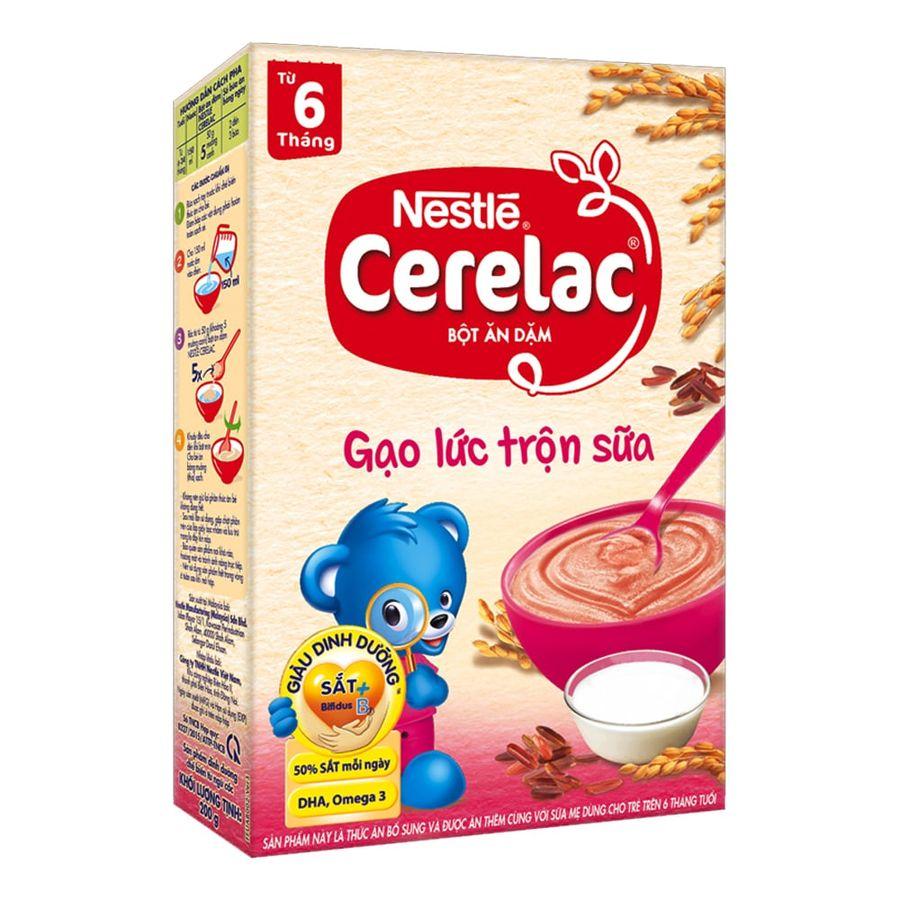 Bột Ăn Dặm Nestle Cerelac Đủ Vị Cho Trẻ 6 Tháng