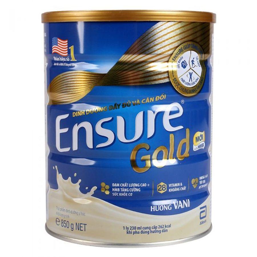 Sữa Ensure Gold 850g- Sữa Bột Cho Người Lớn Tuổi