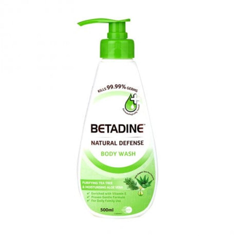 Sữa Tắm Kháng Khuẩn Betadine Cho Người Lớn Và Trẻ Em Trên 3 Tuổi