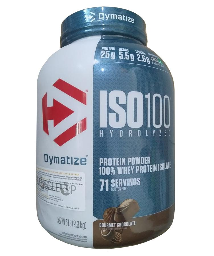 Iso 100 Whey Protein Dymatize 5Lbs