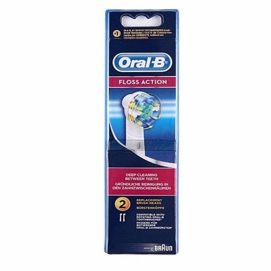 Bộ 2 Đầu Bàn Chải Oral-B Flossaction Công Nghệ MicroPulse