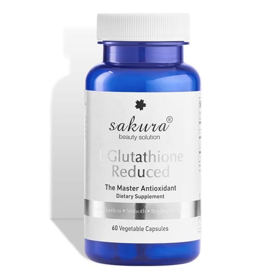 Viên Uống Hỗ Trợ Trắng Da Sakura L-Glutathione Reduced Nhật Bản