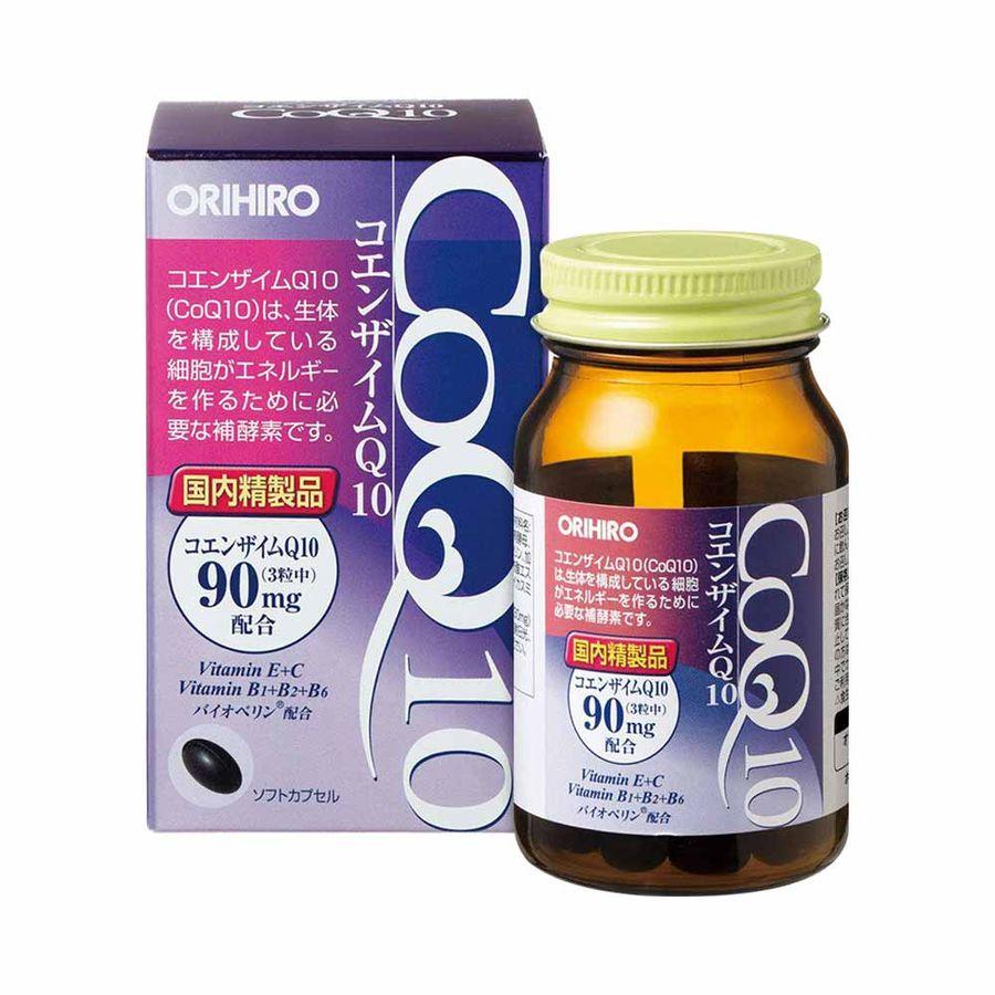 Viên Uống Hỗ Trợ Tim Mạch CoQ10 Orihiro 90mg Của Nhật