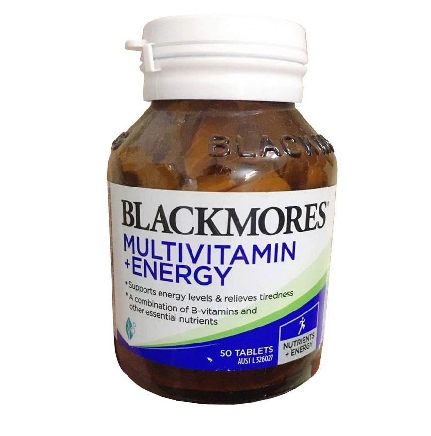 Bổ Sung Vitamin Tăng Cường Năng Lượng Blackmores Multivitamin + Energy