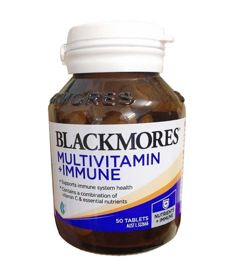 Vitamin Tổng Hợp Blackmores Multivitamin + Immune