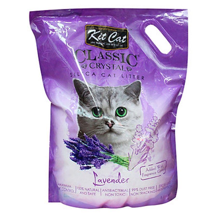 Cát Vệ Sinh Kitcat Thủy Tinh Cho Mèo Hỗ Trợ Khử Mùi