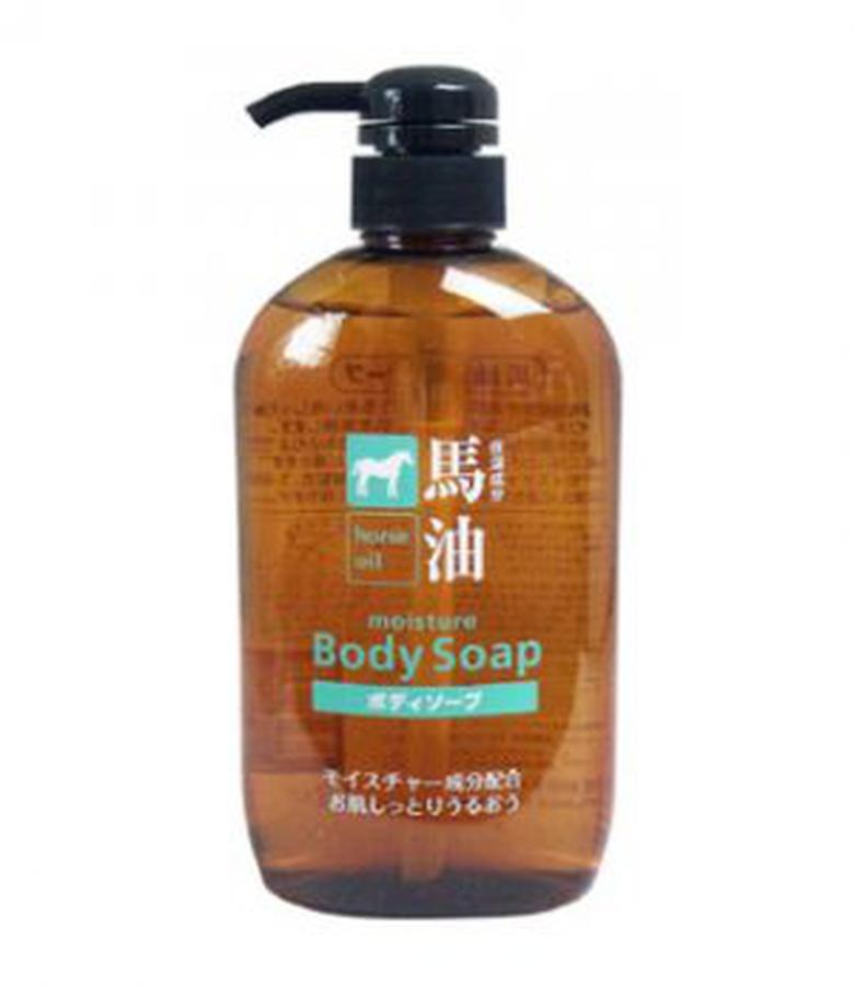 Sữa Tắm Mỡ Ngựa Kumano Moisture Body Soap