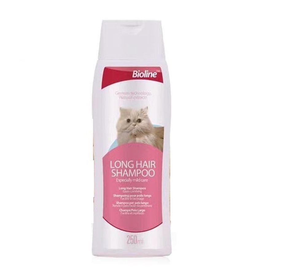 Dầu Gội Cho Mèo Lông Dài Bioline Long Hair Shampoo