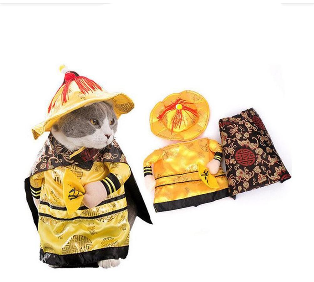 Bộ Quần Áo Đáng Yêu Hoàng Thượng Dành Cho Mèo Dưới 3kg
