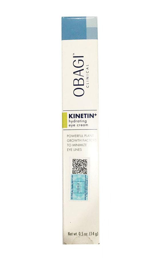 Kem Hỗ Trợ Giảm Nhăn Vùng Mắt Obagi Clinical Kinetin Hydrating Eye Cream