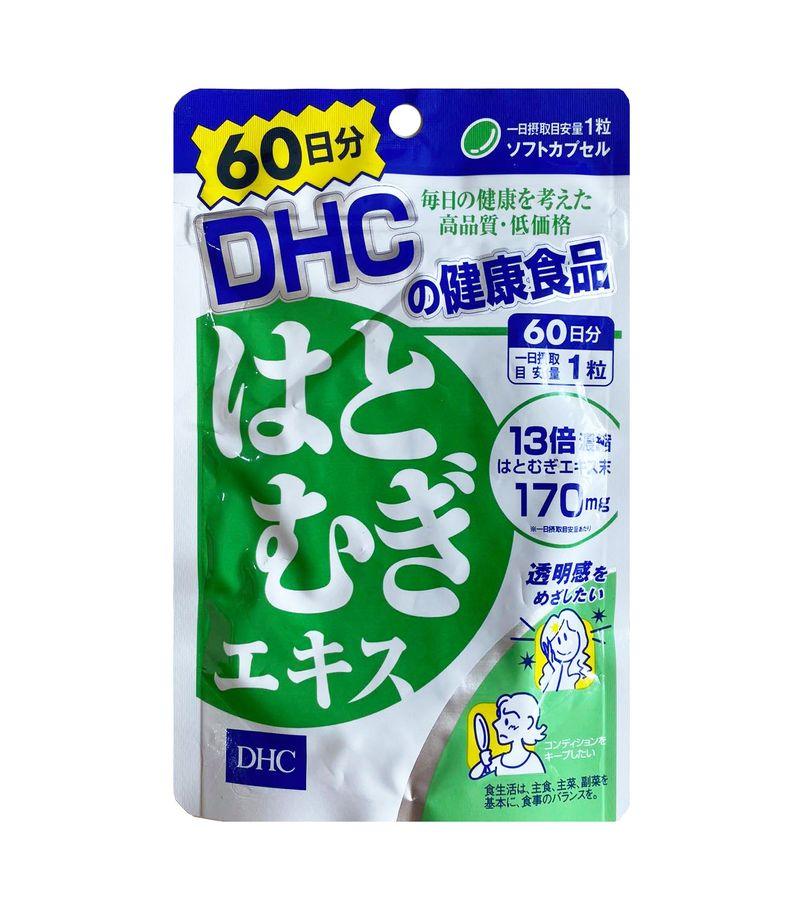 Viên Uống Hỗ Trợ Trắng Da DHC Coix Extract Của Nhật Bản