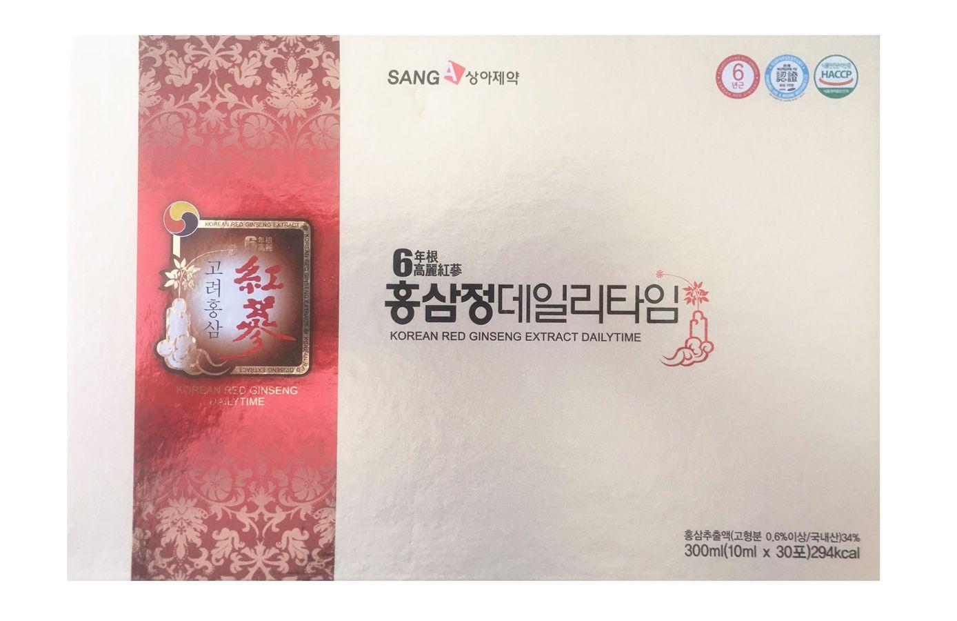 Nước Hồng Sâm Sanga Hàn Quốc Dành Cho Người Lớn Dạng Gói