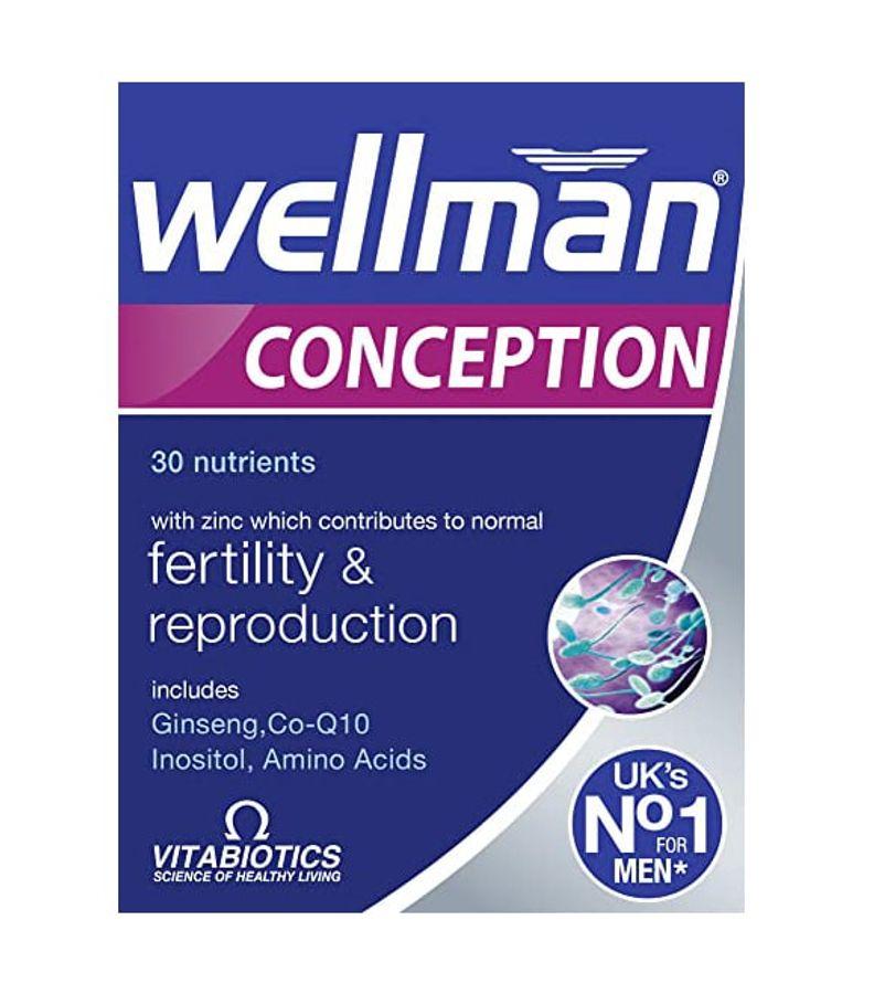 Wellman Conception Tăng Chất Lượng Tinh Trùng Cho Nam