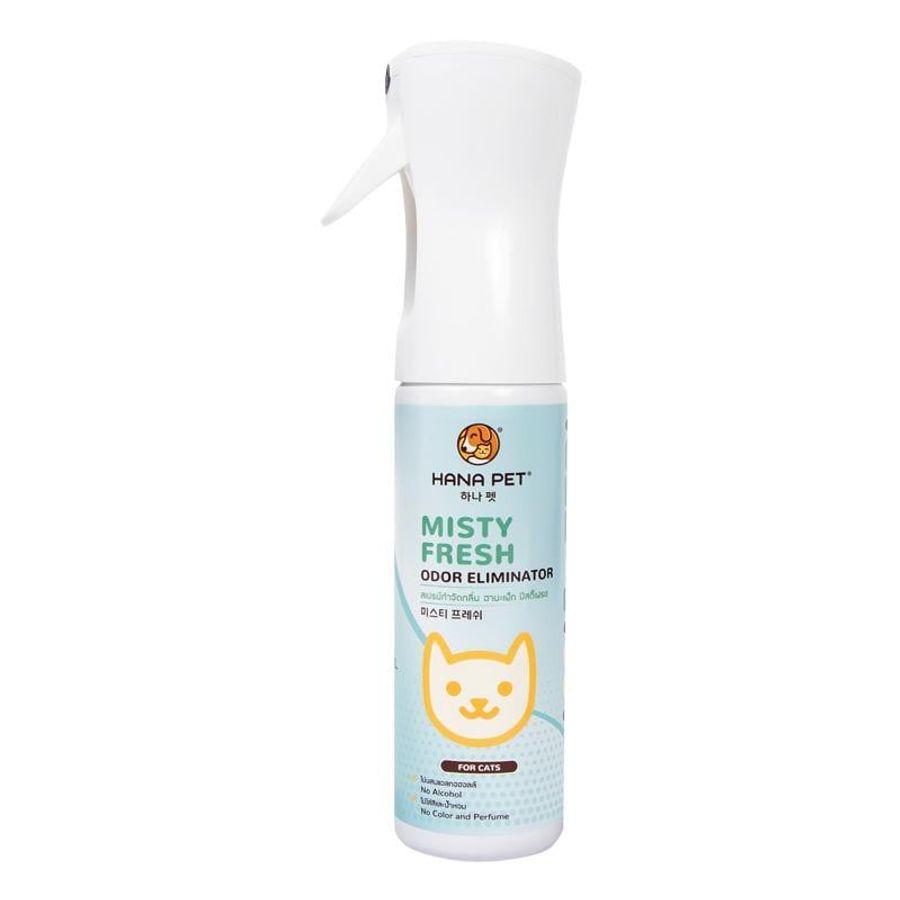Xịt Khử Mùi Đa Năng Và Hỗ Trợ Diệt Khuẩn Misty Fresh Cho Mèo