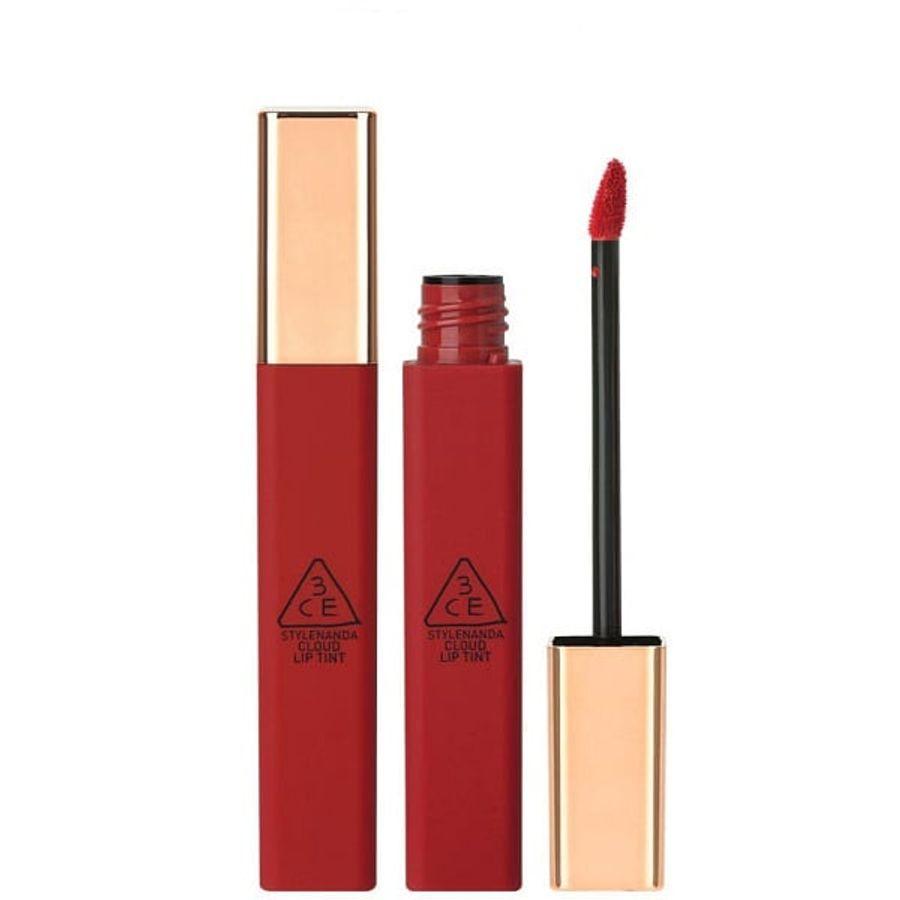 Son 3CE Cloud Lip Tint Macaron Red Đỏ Tươi