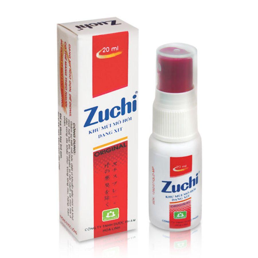Xịt Hỗ Trợ Khử Mùi Hôi Zuchi Hoa Linh 20ml