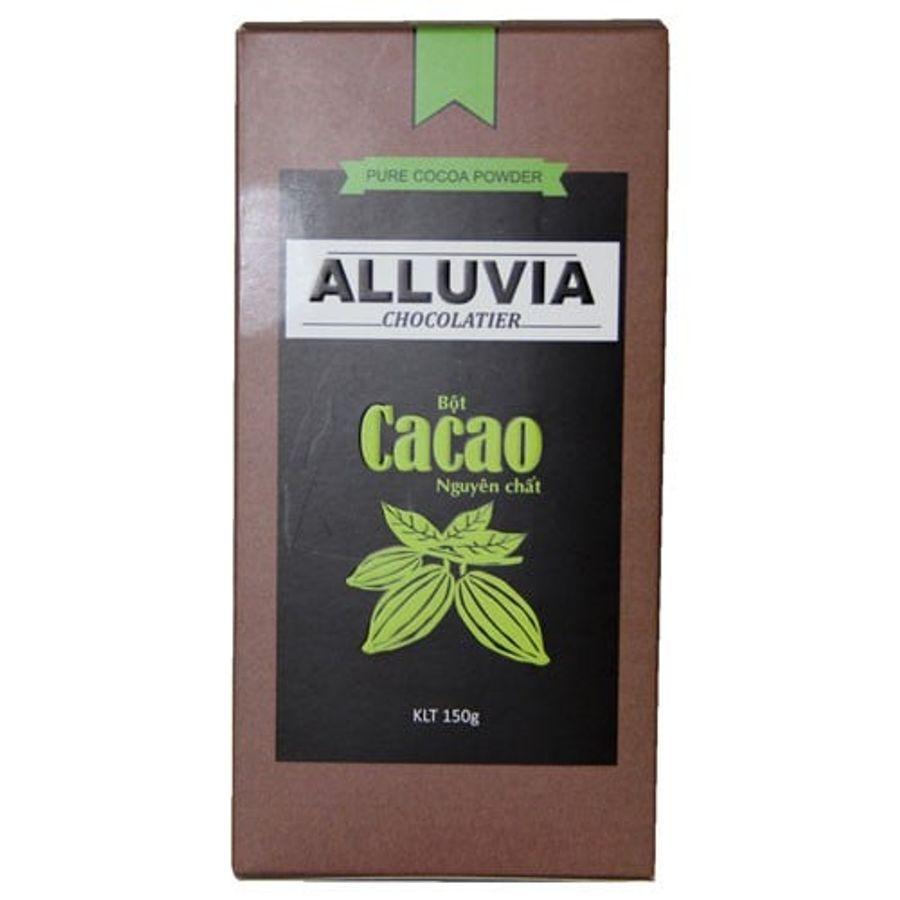 Bột Cacao Nguyên Chất Không Đường Alluvia 150g