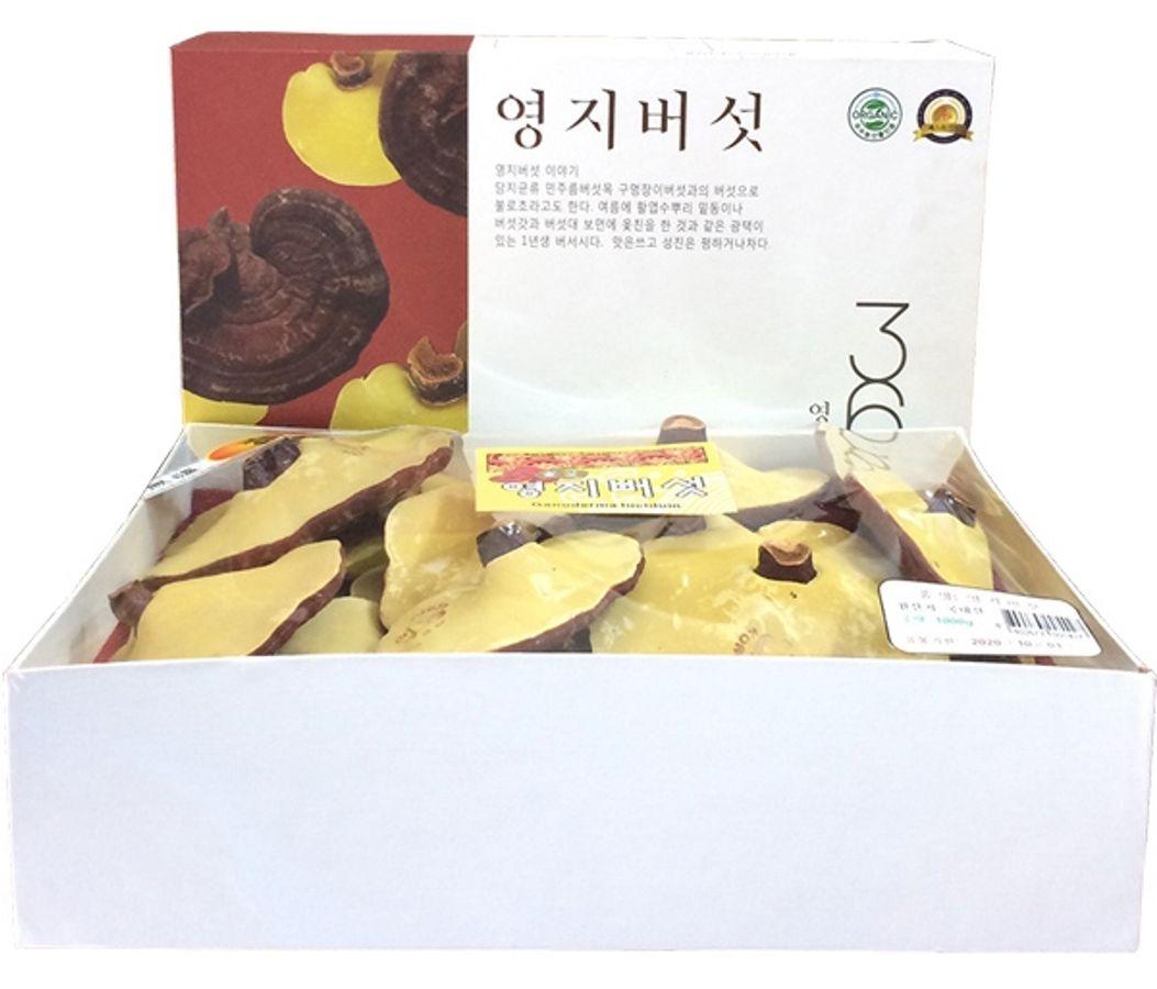 Nấm Linh Chi Vàng Thiên Nhiên Cao Cấp 365 Hàn Quốc 1kg