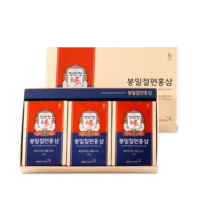 Hồng Sâm Thái Lát Tẩm Mật Ong KGC Hàn Quốc Cao Cấp 20g