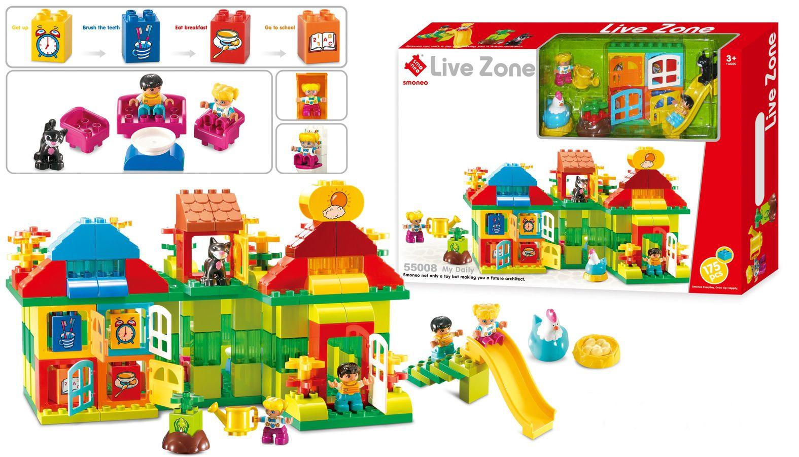 Bộ Lắp Ghép Mô Hình Hoạt Động Mỗi Ngày Của Bé Toys House