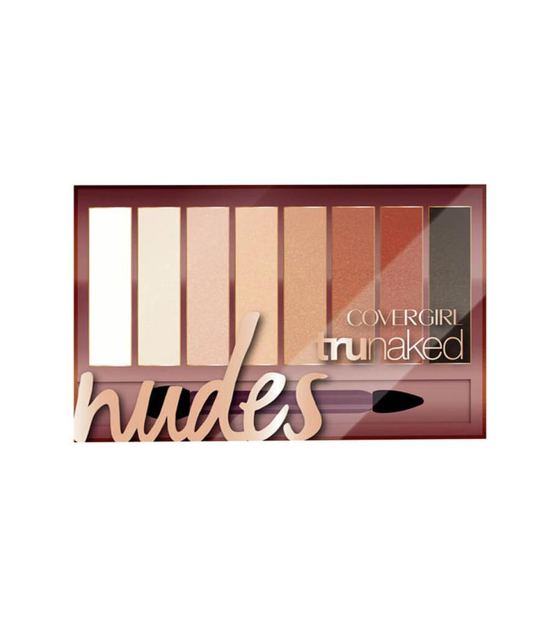 Bảng Phấn Mắt Covergirl Trunaked Nudes Eye Shadow Palette