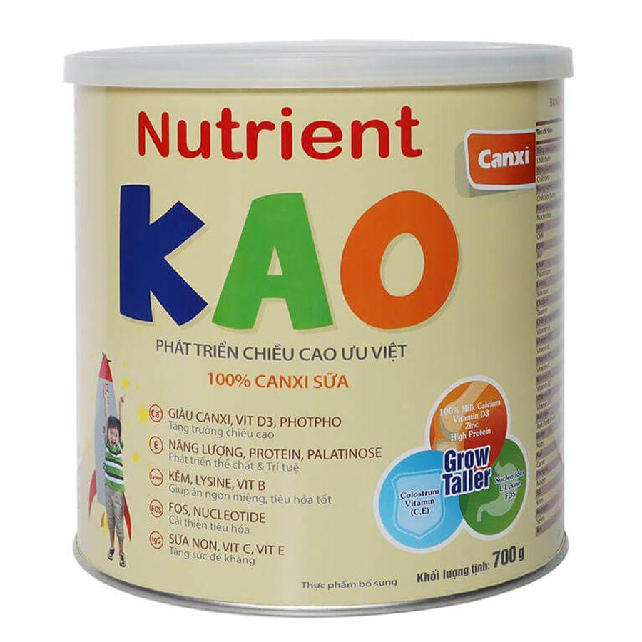 Sữa Nutrient KAO Cho Trẻ 1-6 Tuổi Hỗ Trợ Phát Triển Chiều Cao