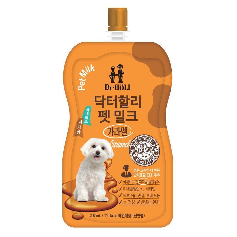 Sữa Dinh Dưỡng Cho Chó Dr.Holi Pet Milk Vị Caramel Thơm Ngon