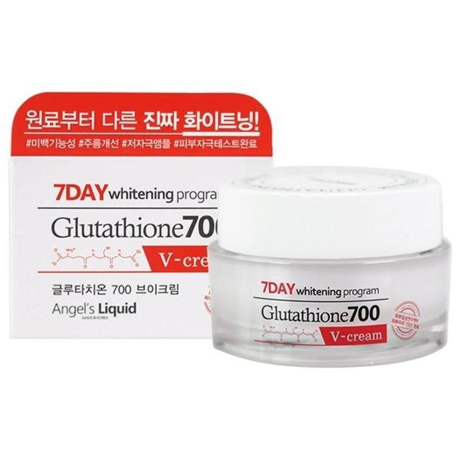 Kem Dưỡng Da 7Day Whitening Program Glutathione700