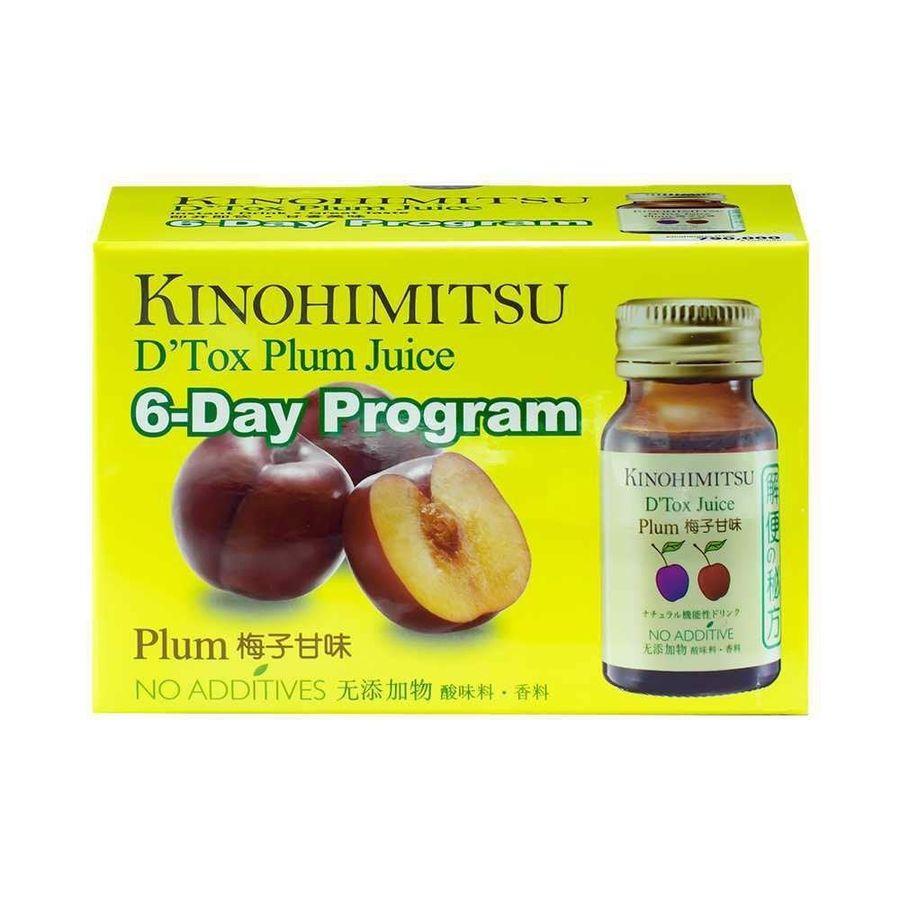 Nước Uống Kinohimitsu D Tox Plum Juice Hỗ Trợ Thải Độc Cơ Thể