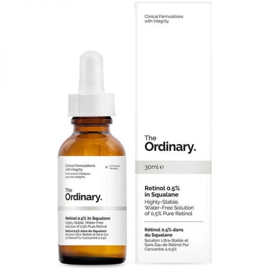 Serum The Ordinary Retinol 0.5% In Squalane Trẻ Hóa Da
