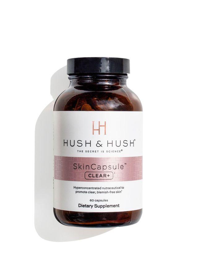 Viên Uống Hush & Hush Skin Capsule Clear+ Hỗ Trợ Giảm Mụn