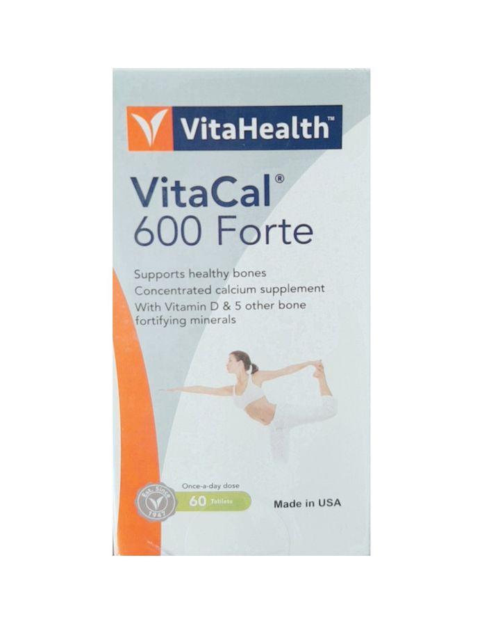 Viên Uống Canxi VitaHealth VitaCal Hỗ Trợ Xương Chắc Khỏe