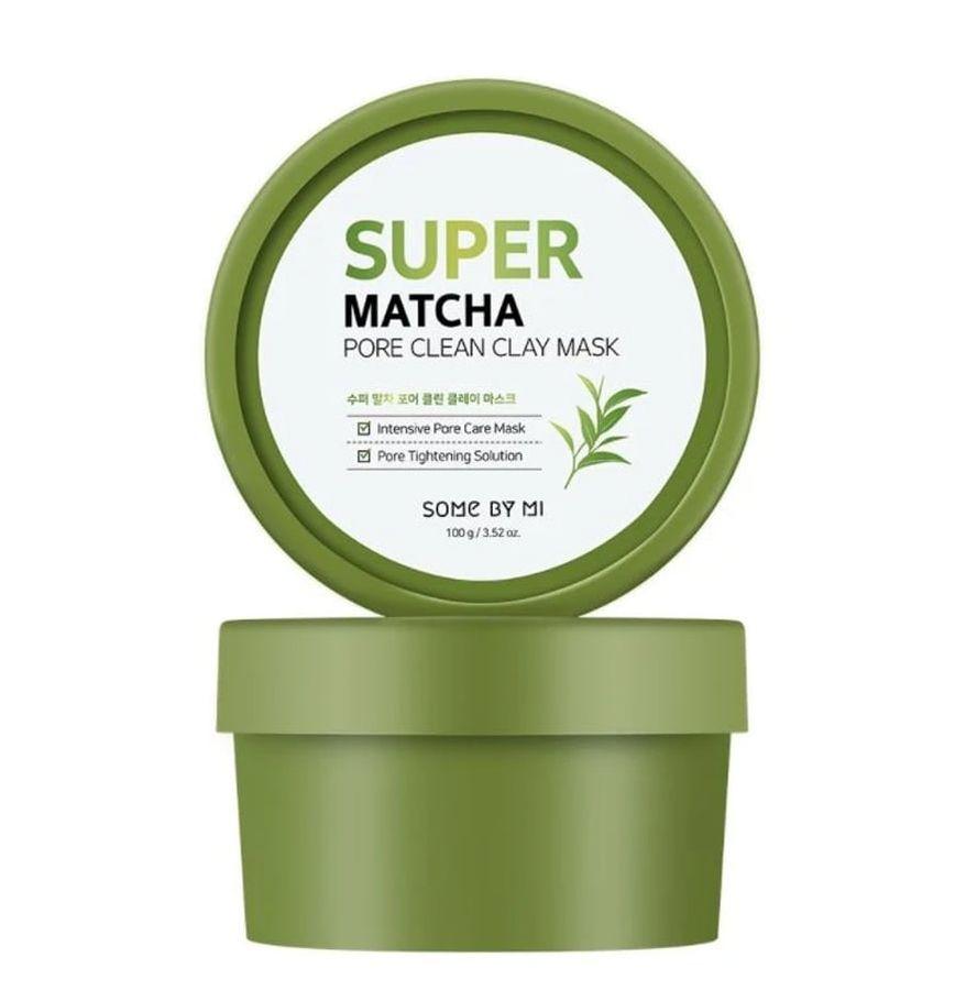 Mặt Nạ Đất Sét Some By Mi Super Matcha Pore Clean Clay Mask