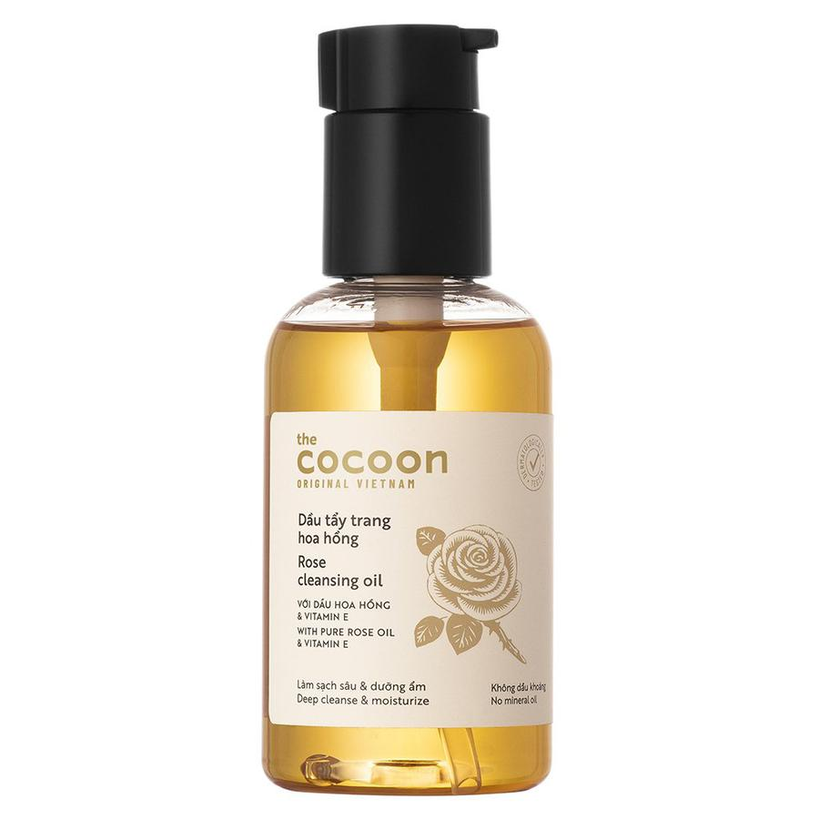 Dầu Tẩy Trang Chiết Xuất Hoa Hồng Cocoon Rose Cleansing Oil